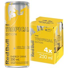 RED BULL TROPICAL EDITION PACK 4X250ML