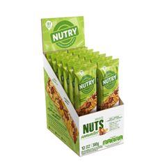 BAR NUTRY NUTS SEMENTES 12X30G