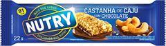 BAR NUTRY CEREAL CAST CAJU CHOC 24X22G