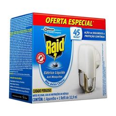 RAID ELETR LIQ AP + 1 RF 45N 32.9ML