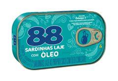 SARDINHAS LAJE 88 OLEO 250G