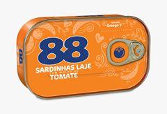 SARDINHAS LAJE 88 MOLHO TOMATE 250G